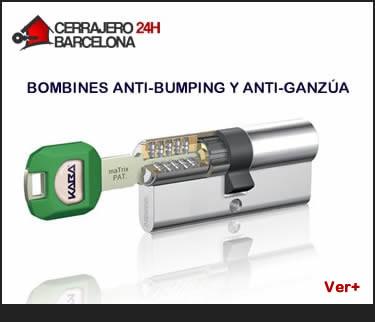 bombines de seguridad antibumping