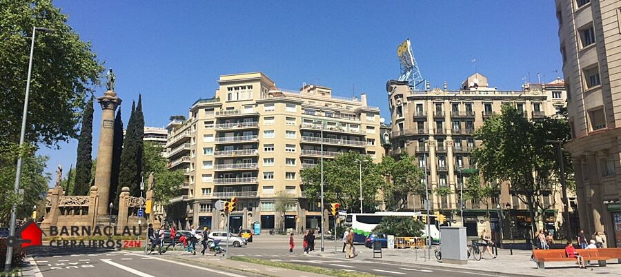 cerrajeros 24hrs en el barrio del Eixample barcelona
