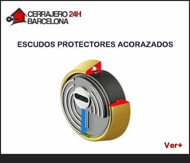escudos protectores de bombines