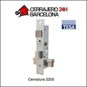Cerradura de seguridad Tesa 2200