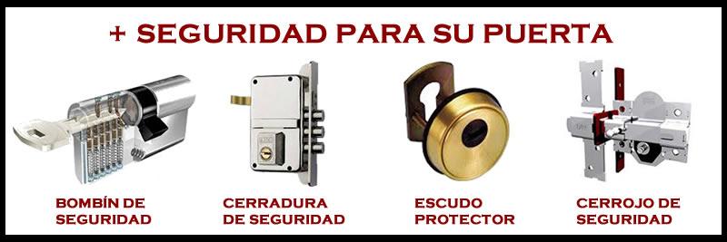 cerraduras y bombines de seguridad