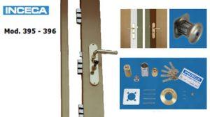 cerradura modelo 395-396 inceca