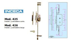cerradura modelo 425-426 inceca