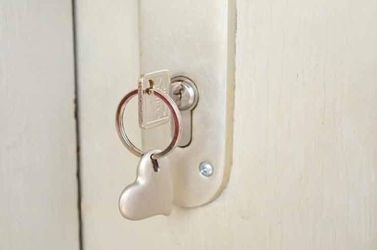 llave por dentro